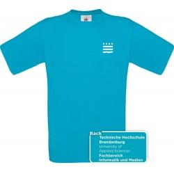 TH Brandenburg Unisex-Shirt Fachbereich Informatik und Medien