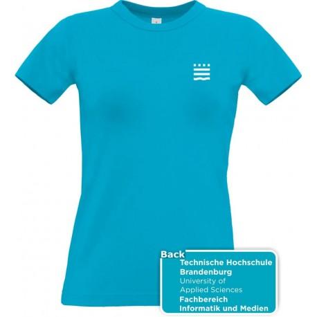 TH Brandenburg Lady-Shirt Fachbereich Informatik und Medien