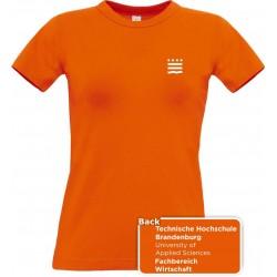 TH Brandenburg Lady-Shirt Fachbereich Wirtschaft